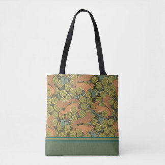 Art Nouveau Squirrel Design Tote Bag