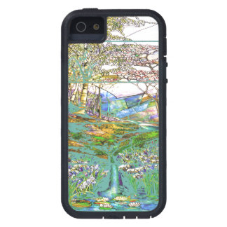Art Nouveau Stained Glass Tiffany Nature Case For The iPhone 5