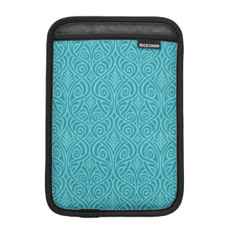 art nouveau, teal,green,art deco, vintage,damask,f iPad mini sleeve