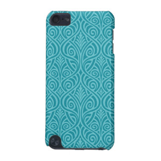 art nouveau, teal,green,art deco, vintage,damask,f iPod touch 5G covers