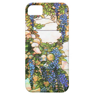 Art Nouveau Tiffany Stained Glass Flowers iPhone 5 Cover