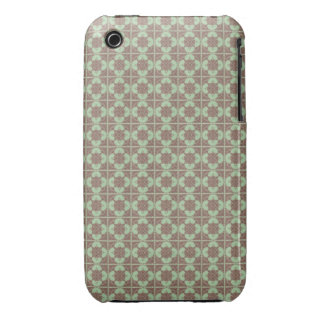 Art Nouveau Tiled Geometric Abstract iPhone 3 Covers