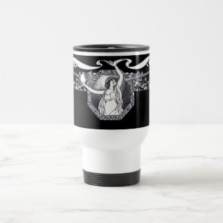 Art Nouveau Travel Mug