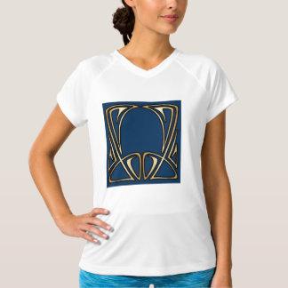 art nouveau,vintage,floral,belle époque,elegant,bl T-Shirt