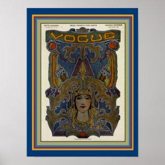 Art Nouveau Vogue Print 12 x 16