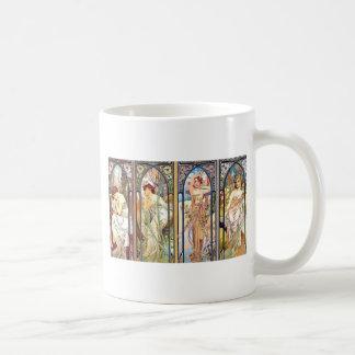 Art Nouveau Windows Coffee Mug