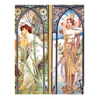 Art Nouveau Windows Letterhead