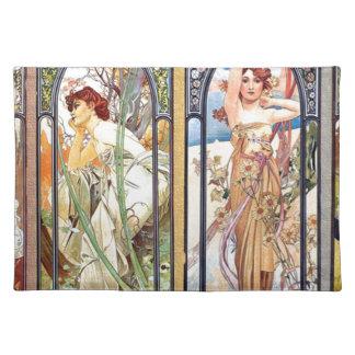 Art Nouveau Windows Placemat