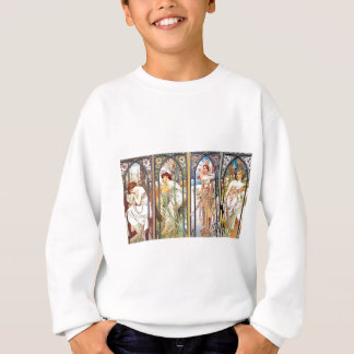 Art Nouveau Windows Sweatshirt