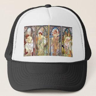 Art Nouveau Windows Trucker Hat