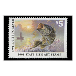 Art of Conservation Stamp 2008 Poster