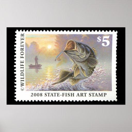 Art of Conservation Stamp 2008 Print