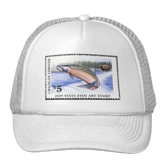 Art of Conservation Stamp - 2009 Trucker Hat