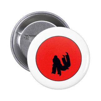 Art Of Judo Print 2 Inch Round Button