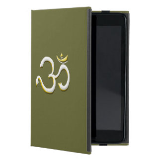 Art of OM / AUM Symbol Style Always in Fashion Cover For iPad Mini