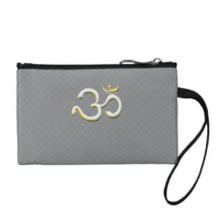 Art of Om Symbol Fashion In Style Bags / Clutch Change Purses