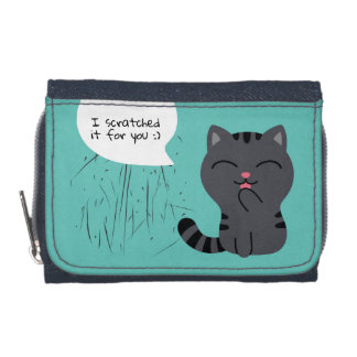 Art of Scratching Illustration Wallet