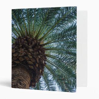 Art Of The Palm Tree Vinyl Binder