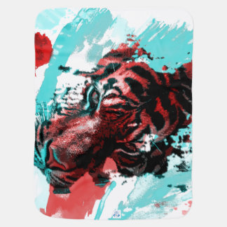Art of Tiger Style Swaddle Blanket
