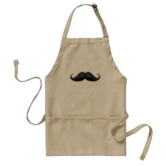Art of Traditional  Braided Waxed Moustache Apron