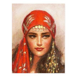 art of women postcard