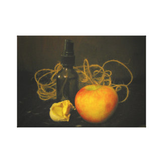 Art on Canvas Photo Vintage French Style Apples