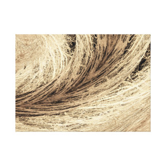 Art on Canvas Photo Vintage French Style Grass