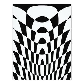Art op vintage du tigre 80s de Corey Carton D'invitation 10,79 Cm X 13,97 Cm