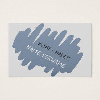 art painter business card