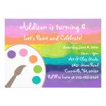 Art Party Invitation