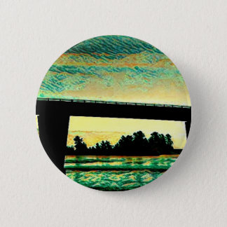 Art Photo The Bridge to St Joseph Island 2 Inch Round Button