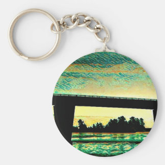 Art Photo The Bridge to St Joseph Island Keychain