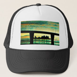 Art Photo The Bridge to St Joseph Island Trucker Hat