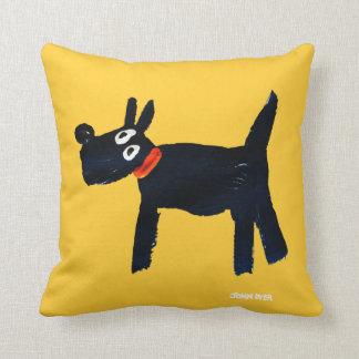 Art Pillow: John Dyer Scotty Dog Throw Pillows