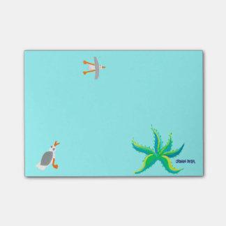 Art Post it Notes: John Dyer Design Sticky Notes