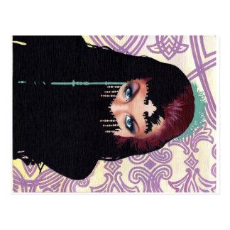 Art postcard by Bonnie Gloris