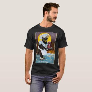 Art-Poster-Advertisement-Its-Owl-Right T-Shirt