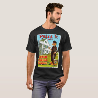 Art-Poster-Advertisement-Lead-Paint-pre-Dutchboy T-Shirt