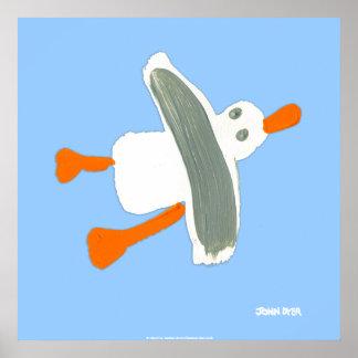Art Poster: John Dyer Seagull Poster