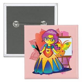 Art Princess Pin