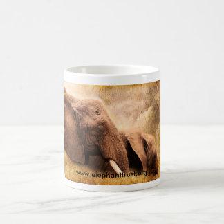 Art print Amboseli Elephant Coffee Mug