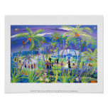 Art Print: Grand Old House Wedding, Grand Cayman Poster