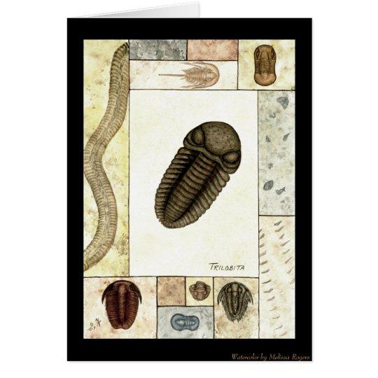 Art Print Greeting Card - Trilobita