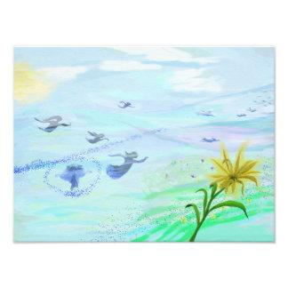 Art Print Painting musicplane