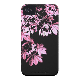 Art purple foliage Case-Mate iPhone 4 case