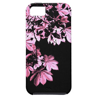 Art purple foliage iPhone 5 cases