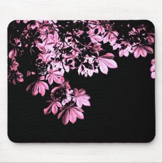 Art purple foliage mouse pad