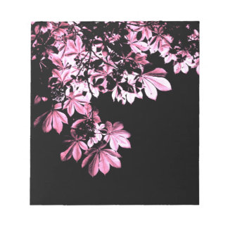 Art purple foliage notepad