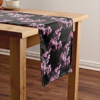 Art purple foliage short table runner