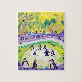 Art Puzzle: Penguins by John Dyer Jigsaw Puzzles